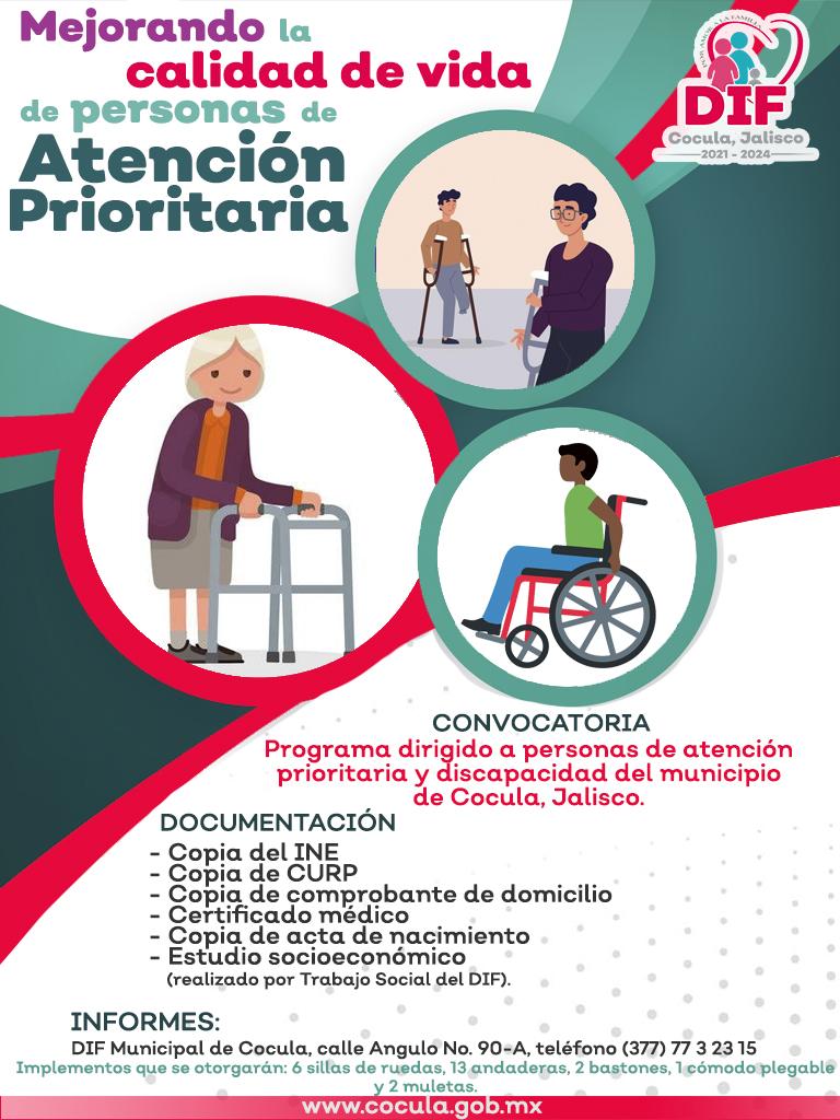 implementos de movilidad DIF